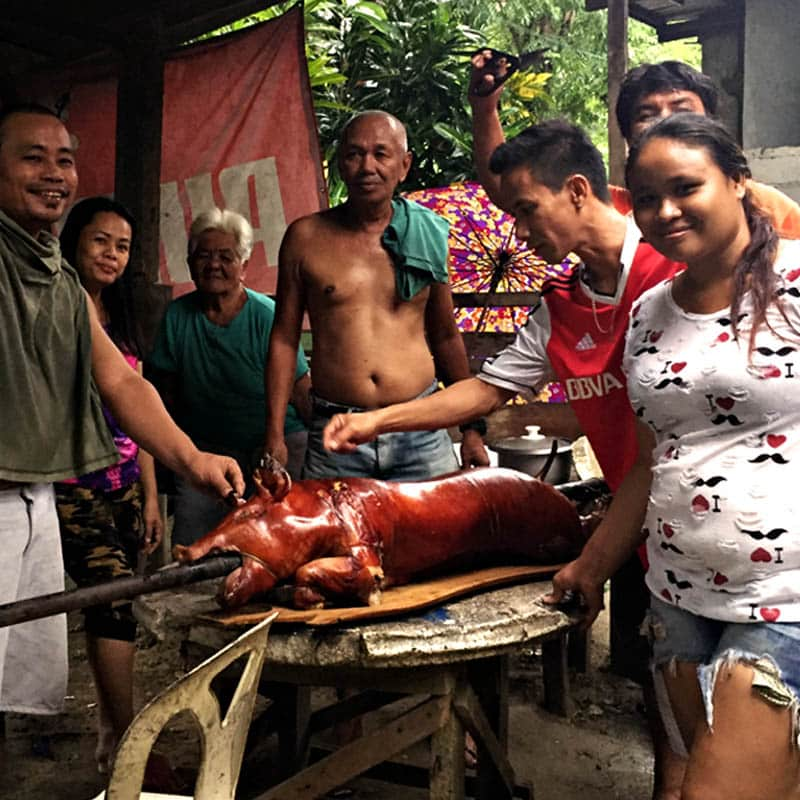 "alt=""Pinoy Love Lechon During Filipino Fiesta"""