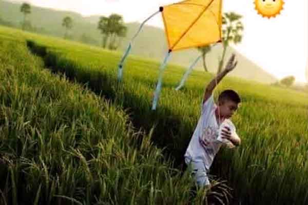 "alt=""Filipino childhood memories are flying a kite during the summer"""
